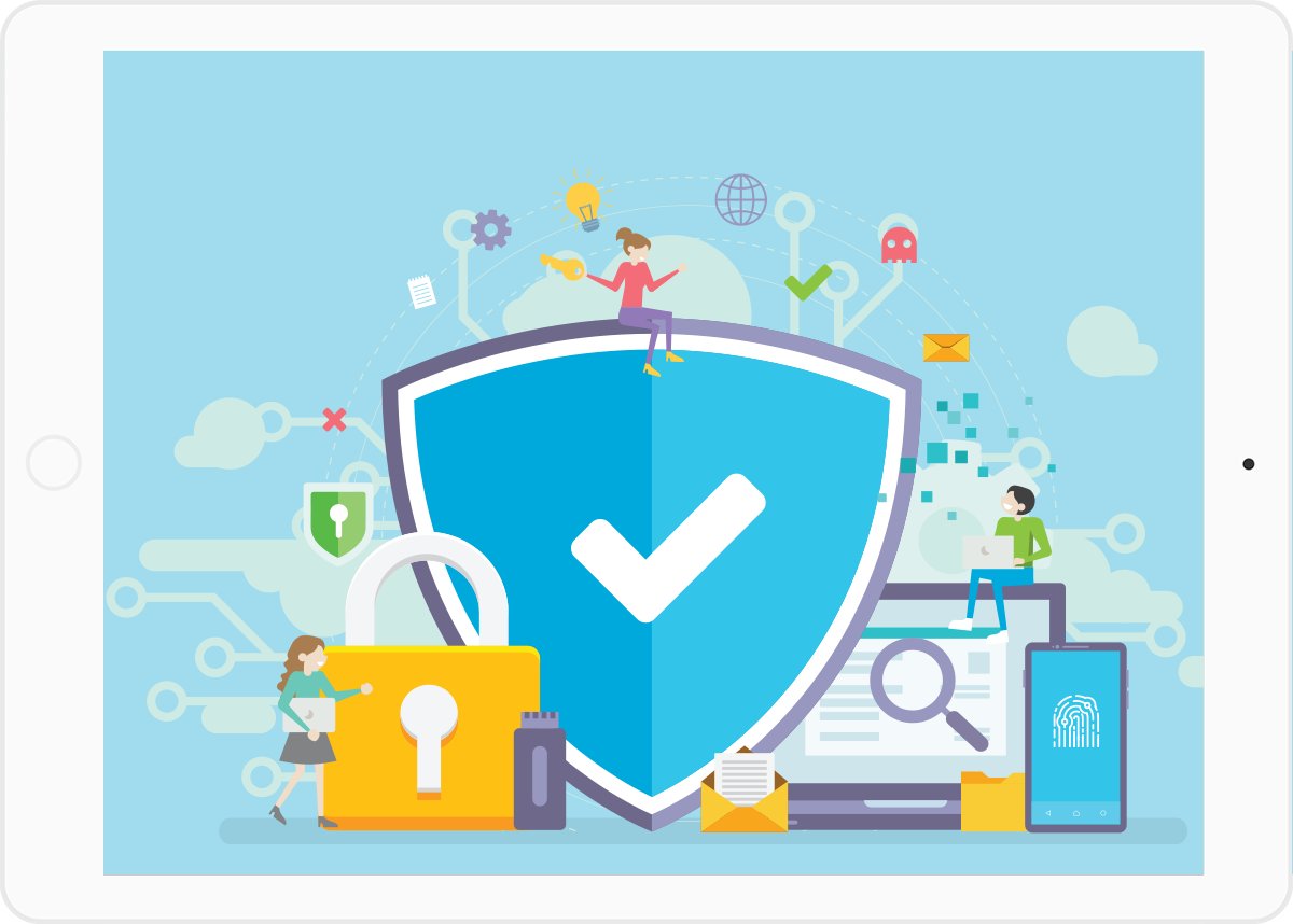 Secure online backup